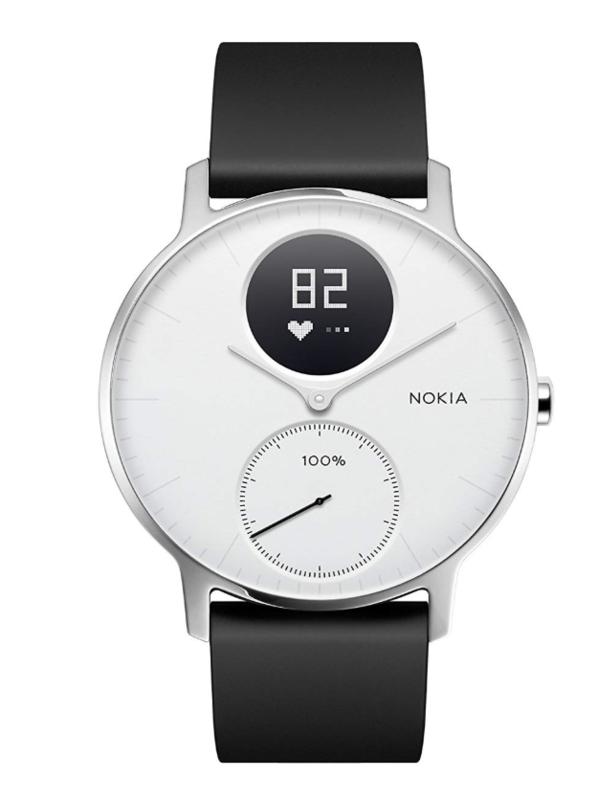 Nokia スマートウォッチ Steel HR HWA03-36WHITE