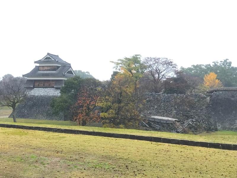 熊本城の外周