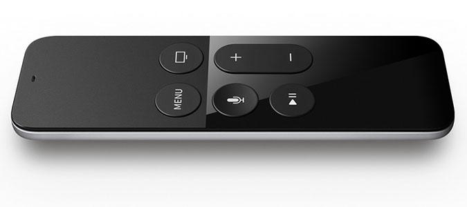 AppleTVの専用リモコン