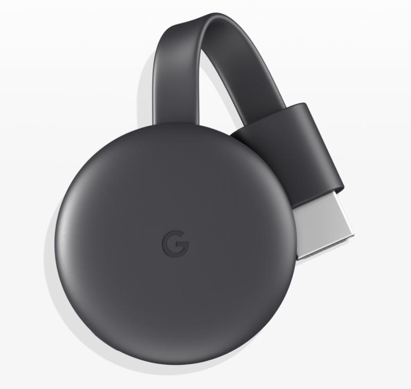 Googleの超コンパクト設計STB「クロームキャスト / クロームキャスト ウルトラ」