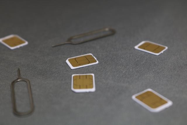 通信会社を自由に選べるイメージ画像(SIMカード)
