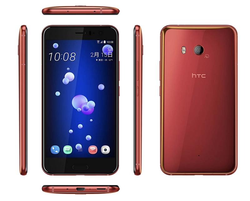 アレクサ搭載のミドルレンジ端末「HTC U11」