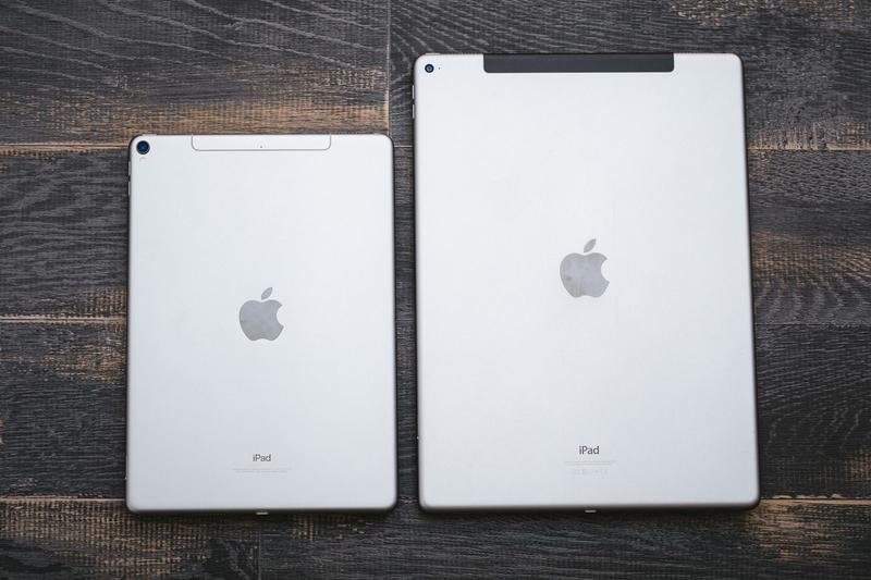 タブレットの画面サイズの違いのイメージ画像(iPad)
