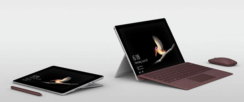 ビジネスマン向けタブレットの決定版「マイクロソフト Surface Go」