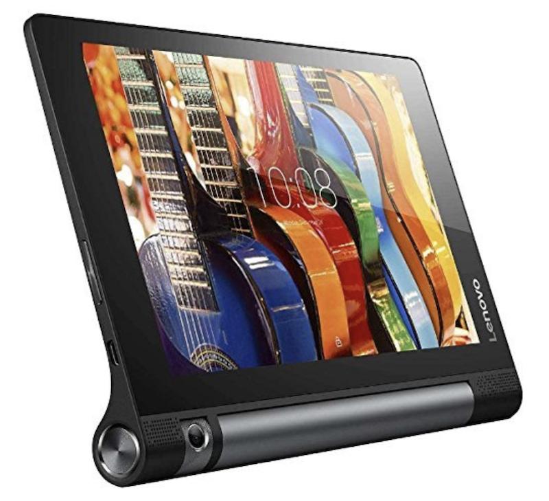 据え置きしやすいタブレット「Lenovo タブレット YOGA Tab 3 8」