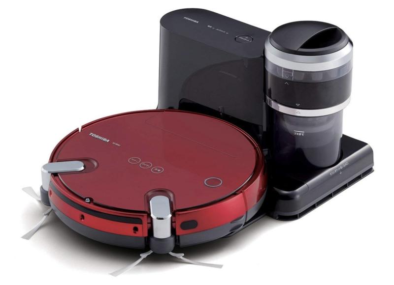 ゴミの収集まで自動化「東芝 ロボット掃除機 TORNEO ROBO」