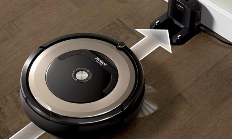 ロボット掃除機の自動チャージ(自動帰還)機能