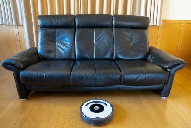 ロボット掃除機の高さに注意するイメージ画像