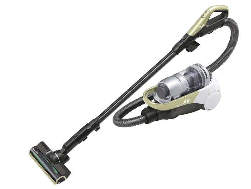 貴重なキャニスター形状「シャープ コードレスキャニスターサイクロン掃除機 RACTIVE Air EC-AS500」