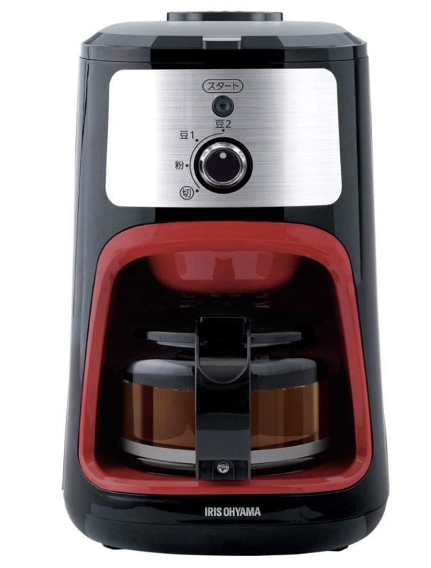 ドリップ式:アイリスオーヤマ コーヒーメーカー 全自動  IAC-A600