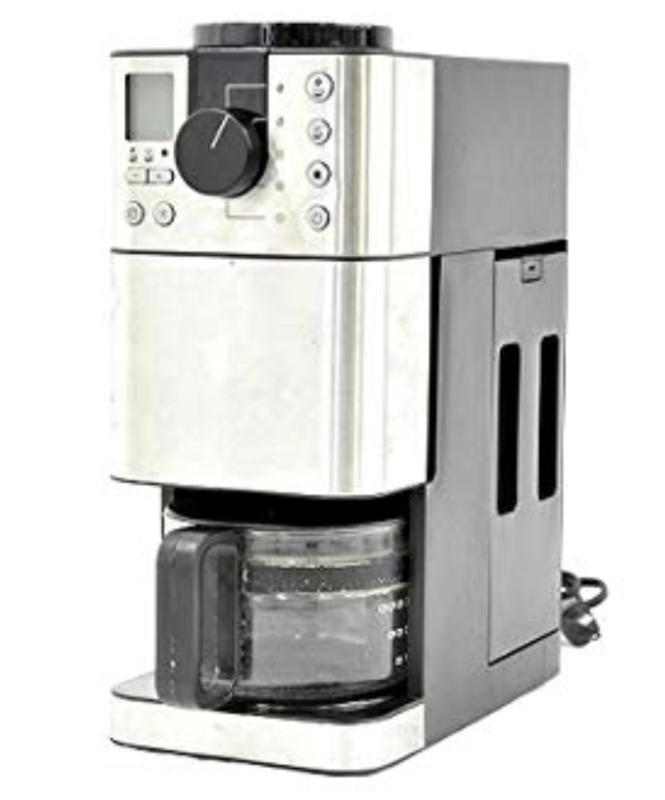 ドリップ式:無印良品 豆から挽けるコーヒーメーカー MJ-CM1 MUJI