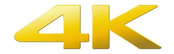 4Kのロゴ画像