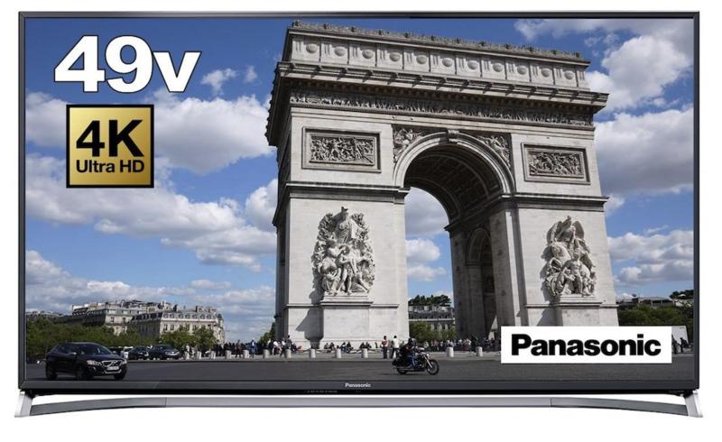 パナソニック 49V型 VIERA TH-49CX800N 4K USB HDD録画対応 3D