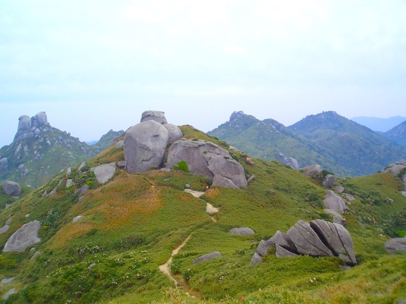 日本百名山の宮之浦岳