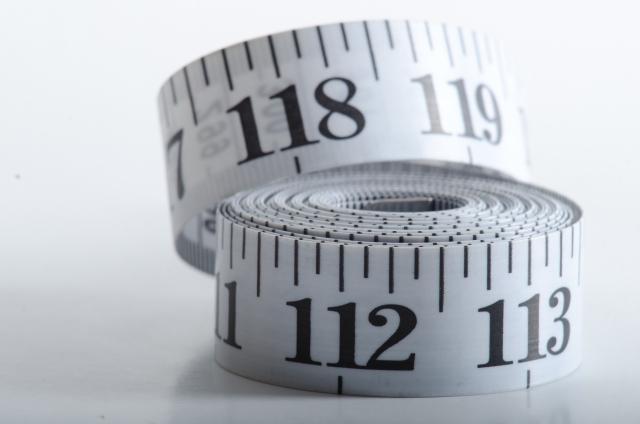 バイクカバー のサイズを測るイメージ