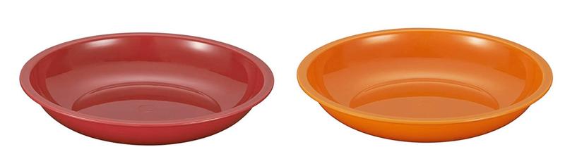 プラスチック製のアウトドア用食器セット