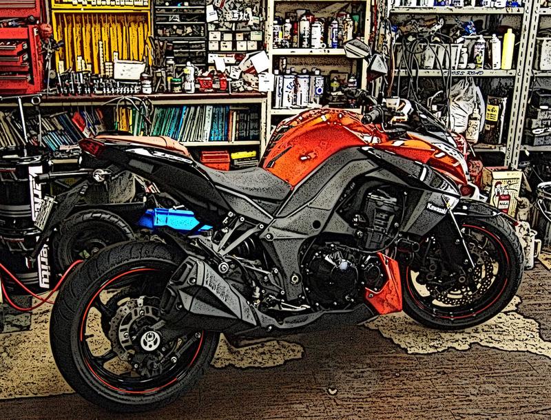 バイクガレージのイメージ