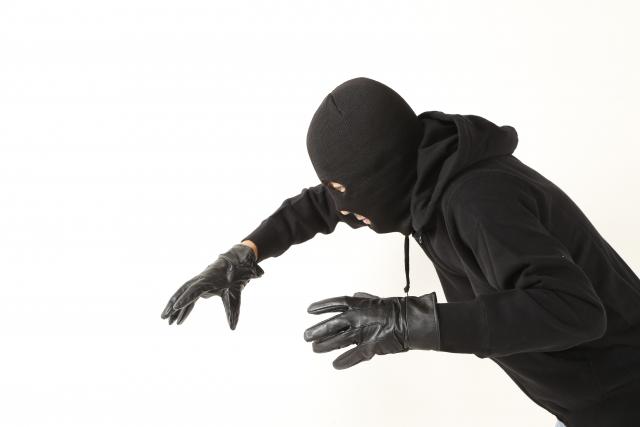 バイクの盗難やイタズラのリスクのイメージ(泥棒)