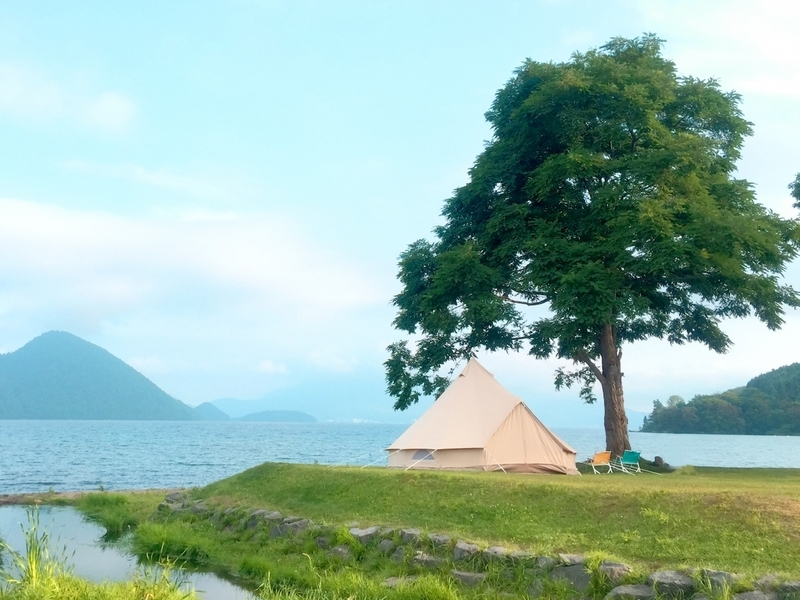 キャンプの風景
