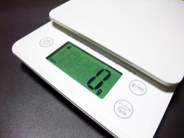 ジンバル・スタビライザーの重量のイメージ