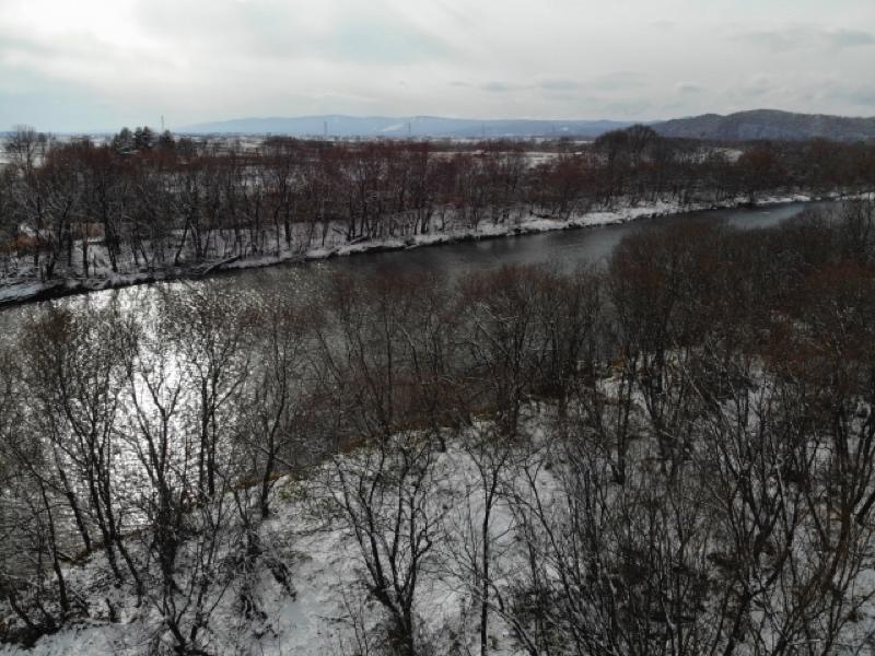 冬ならではの景色が見れる「冬のリバーカヌー」