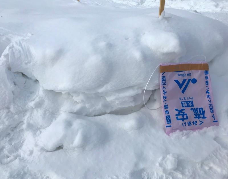 北海道は何処でも天然滑り台「ソリ滑り」