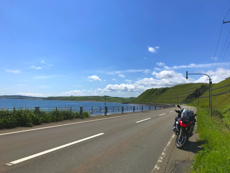 北海道のオロロンラインツーリング