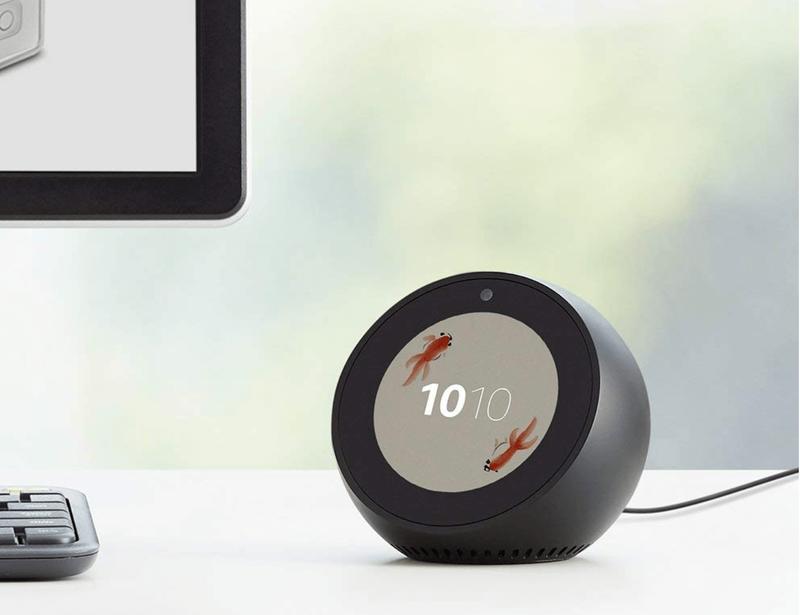 スクリーン付きのスマートスピーカー「Amazon Echo Spot」