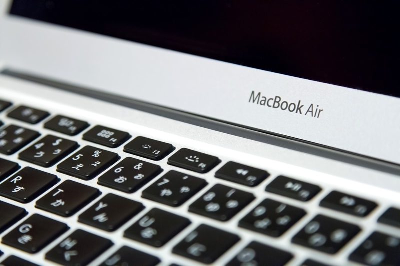 MacBookAir(MacOSのイメージ)