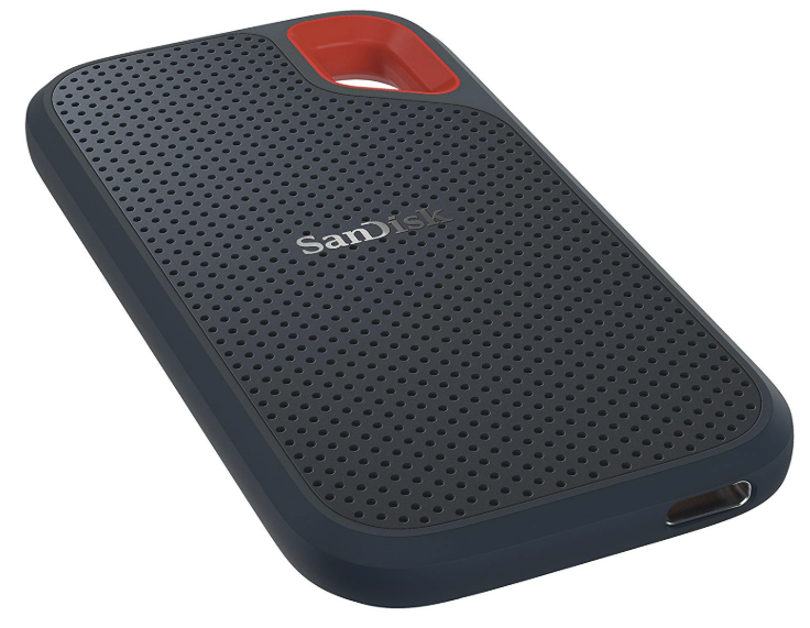 SanDisk エクストリーム ポータブル SSD USB3.1 Gen2対応