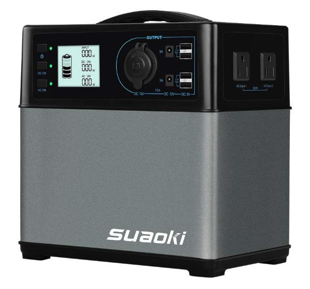 バッテリー容量400Wh:suaoki ポータブル電源 大容量