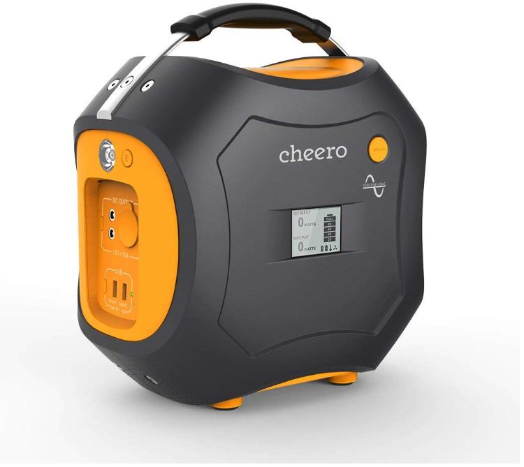 バッテリー容量500Wh:cheero Energy Carry 500Wh