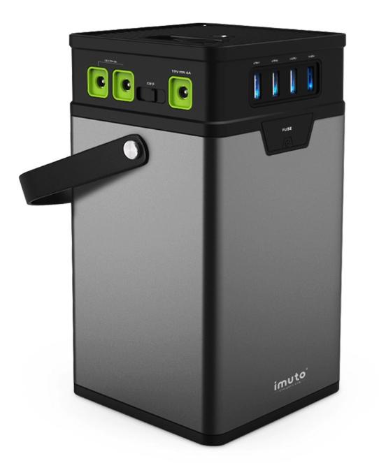 バッテリー容量371Wh:iMuto M10