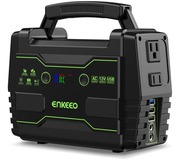 バッテリー容量155Wh:enkeeo ポータブル電源 S155