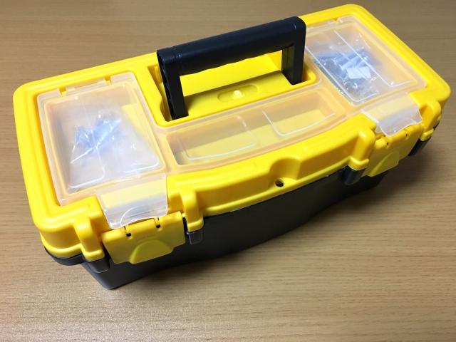 工具セット(工具箱)の携帯性のイメージ