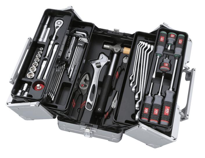 KTC 工具セット (両開きメタルケースタイプ) SK3560W