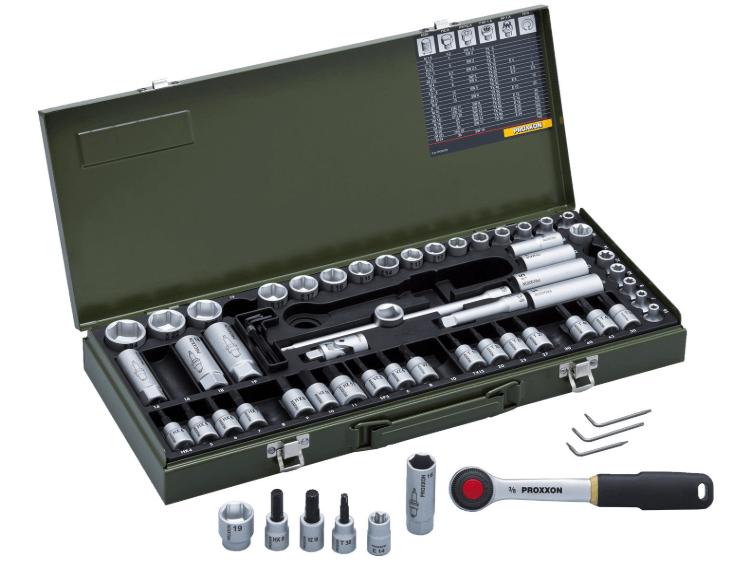 PROXXON オートメカニックセット No.82114 差込角:9.5mm 65点 1セット