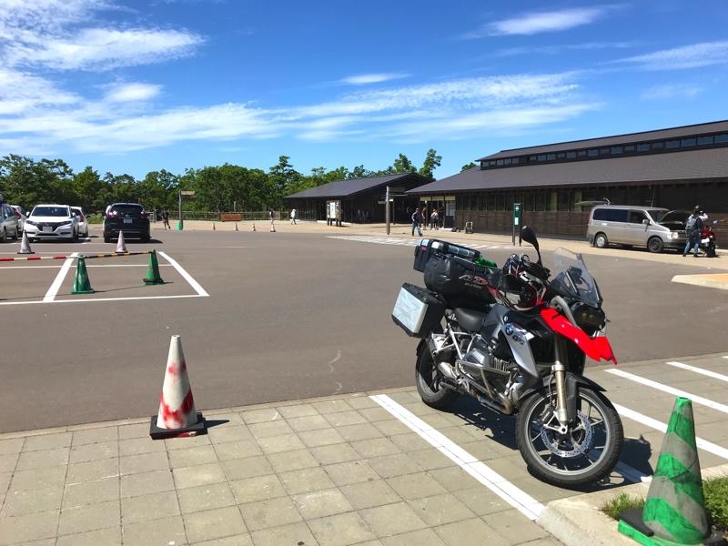 世界遺産 知床の知床五湖の駐車場