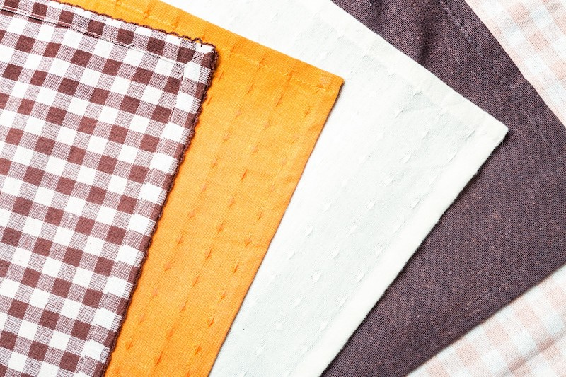 素材に布を使っているパソコンチェア のイメージ(布素材)