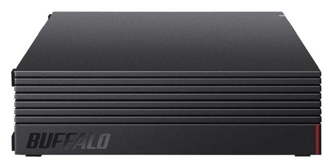 据え置き型:BUFFALO 外付けハードディスク 3TB テレビ録画/PC/PS4/4K対応
