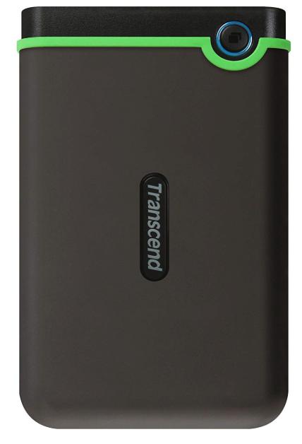 ポータブル型:Transcend USB3.1 2.5インチ スリムポータブルHDD