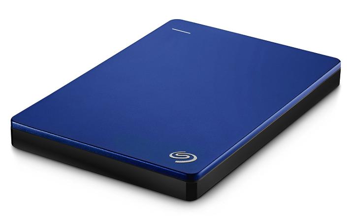 ポータブル型:Seagate 2TB バックアップソフト付 ポータブル HDD