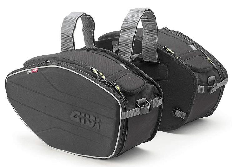 ダブル:GIVI(ジビ)バイクサイドバッグ 可変式 EA101B