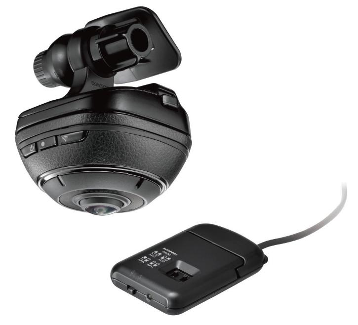 カーメイト ドライブレコーダー × アクションカメラ d'Action360