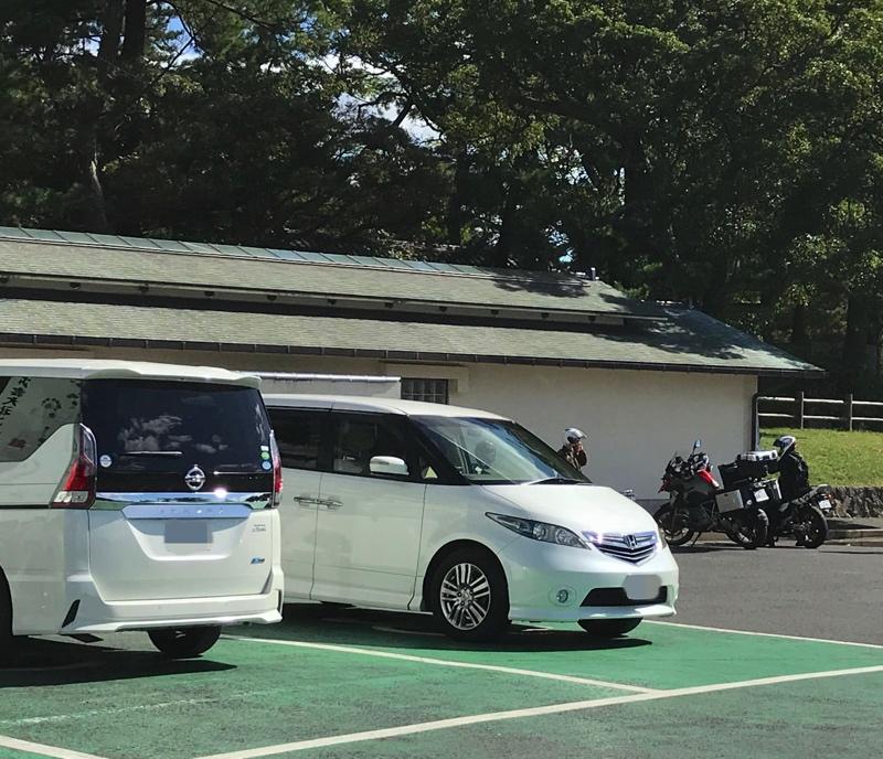 出雲大社の無料駐車場