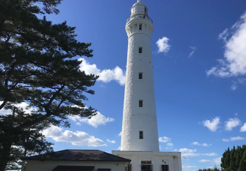 日本一の高さの出雲日御碕灯台