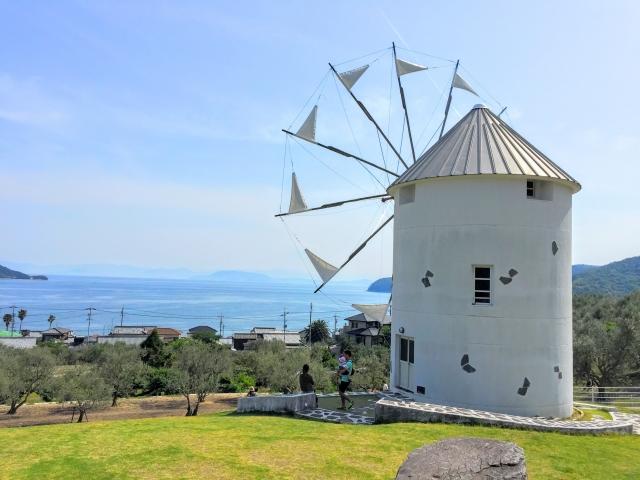 これぞ日本のエーゲ海「道の駅 小豆島オリーブ公園」
