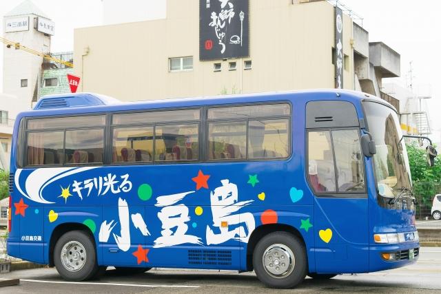 小豆島の観光バス