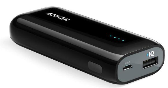 Anker Astro E1(5200mAh 超コンパクト モバイルバッテリー)