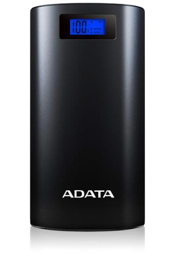 ADATA 20000mAh モバイルバッテリー デジタルディスプレイ付き